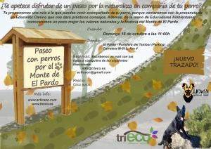 Cartel Ruta Canina El Pardo_Portillera