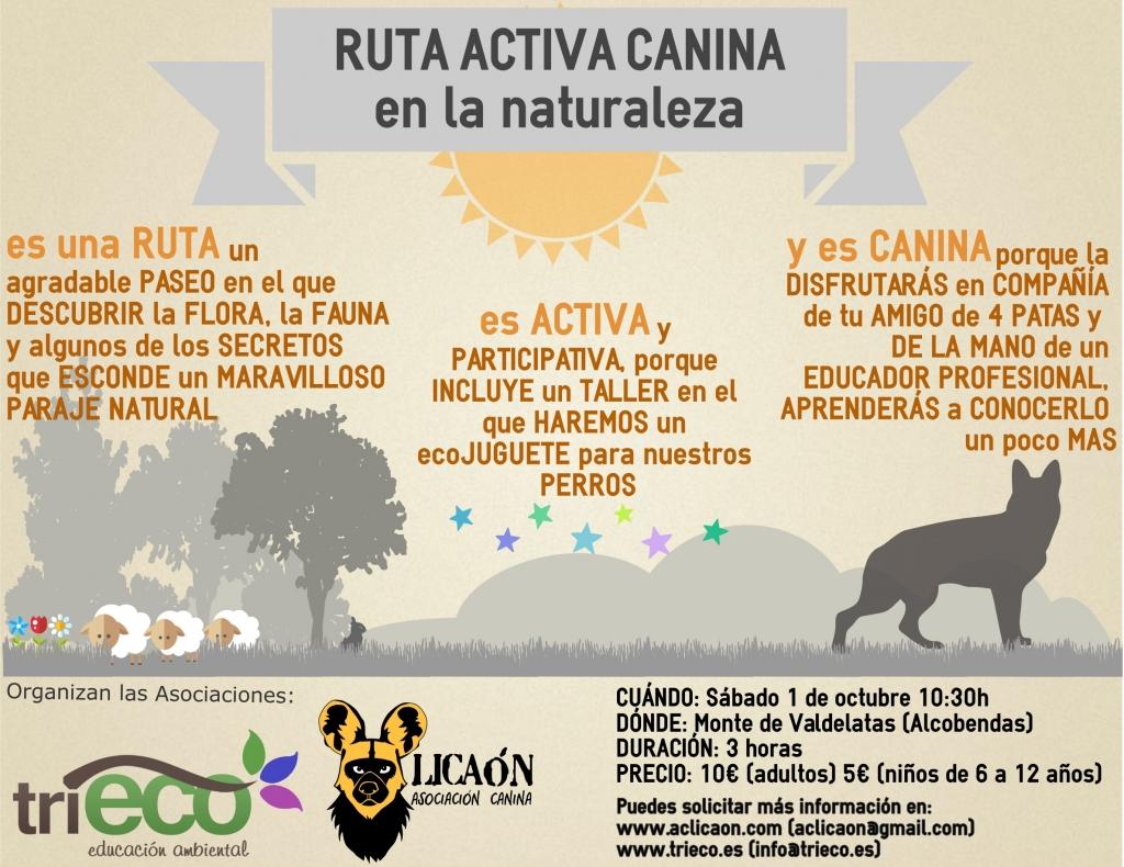 Cartel_RutaActivaCanina 01